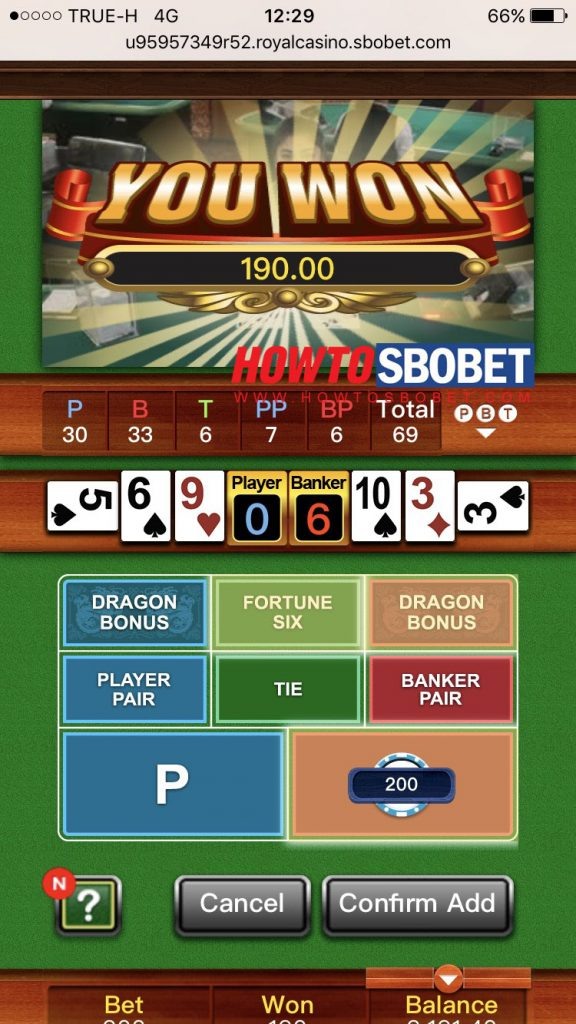mobile sbobet casino