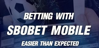 Betting with sbobet mobile is much easier than expected