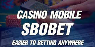 Casino Sbobet Mobile easier to betting online anywhere
