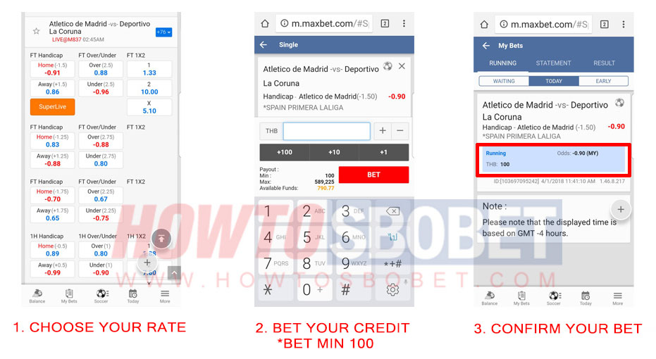 Maxbet on mobile