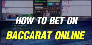 How to bet on Baccarat Online, Rules and Regulations of Baccarat online