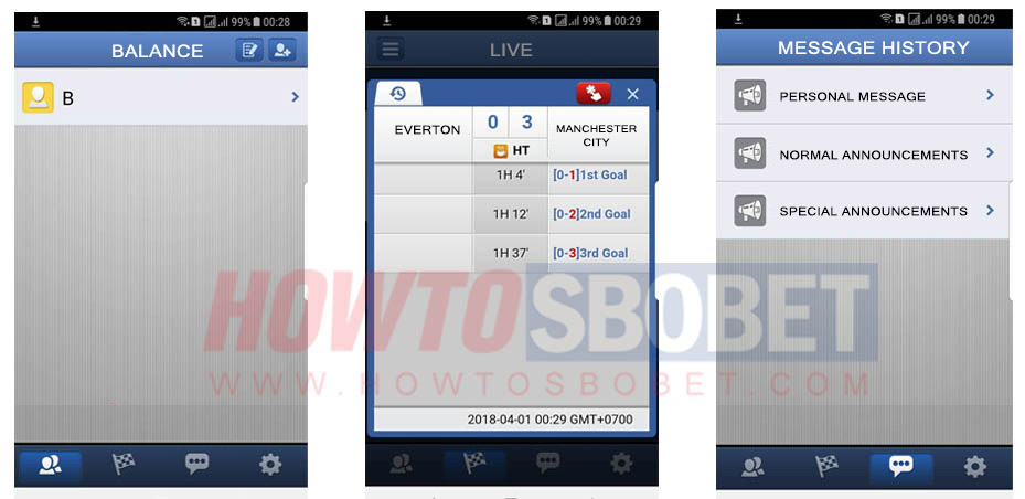 Ibcbet Application on Android