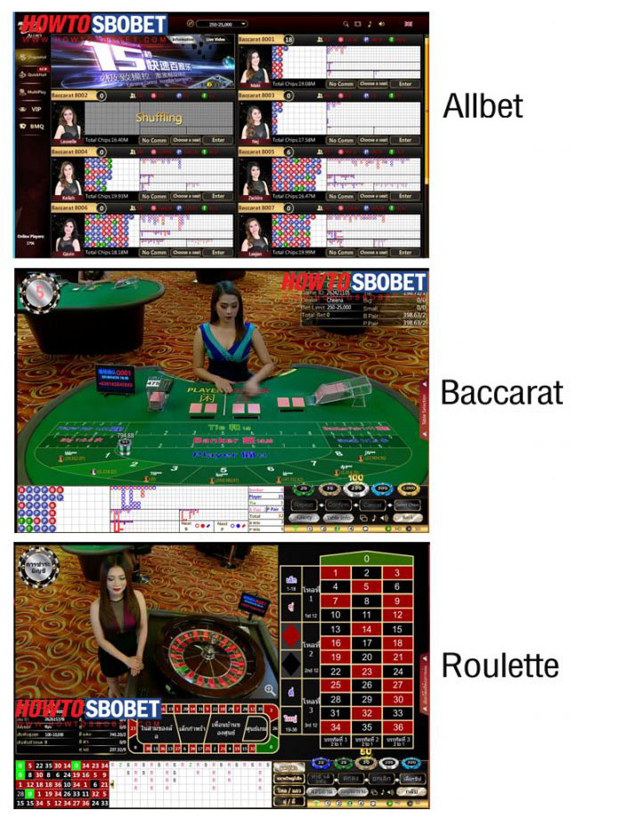 All bet Baccarat Maxbet
